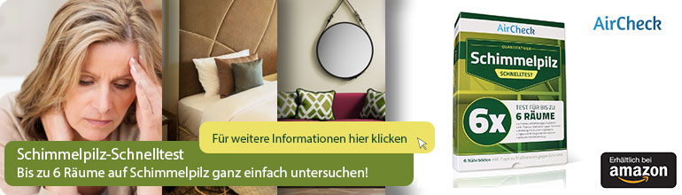 AirCheck Neues Design Amazon Banner
