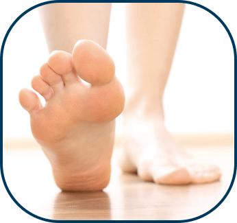 extrem trockene füße
